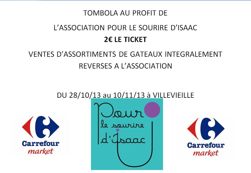 Carrefour market - Pour le sourire d'Isaac