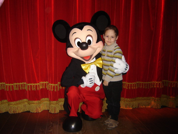 Pour le sourire d'Isaac - Disney Land