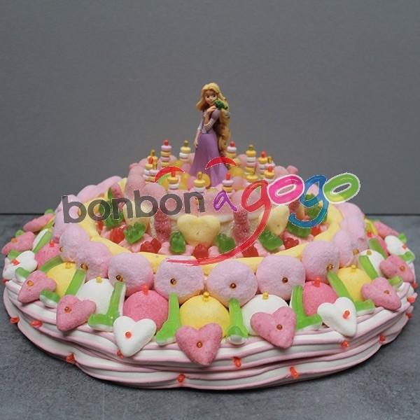 Gâteau bonbons - Pour le sourire d'Isaac